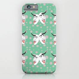 Horny Masks iPhone Case