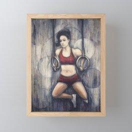 Strength and Beauty Framed Mini Art Print