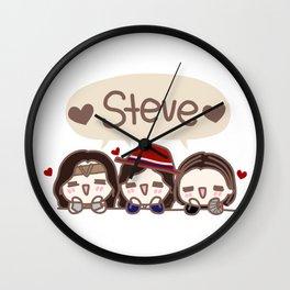 STEVE Wall Clock