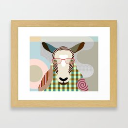 The Shepherd Sheep Framed Art Print