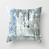 fifth element Throw Pillows featuring Element by Autumn Steam