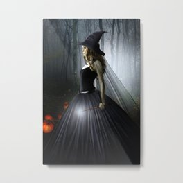 Witch Metal Print
