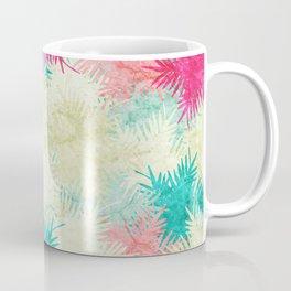 Tropical Fan Palm Paradise – Colorful Coffee Mug
