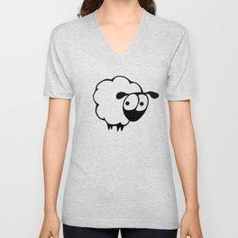 Nora The Sheep Unisex V-Neck