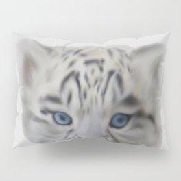 léopard des neiges Pillow Sham