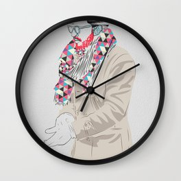 Wrap Up! Wall Clock
