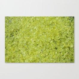 Uranium glass Canvas Print
