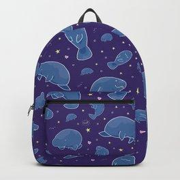 Manatees at Night Backpack