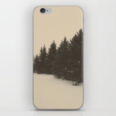 snow pine  iPhone & iPod Skin