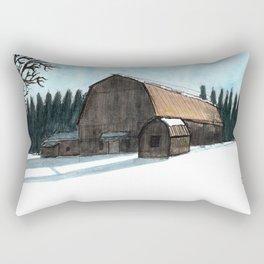 Paysage du Quebec Rectangular Pillow