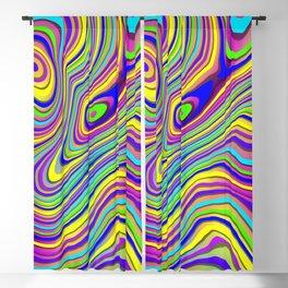Neon Pour Blackout Curtain