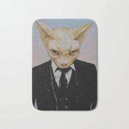 Mister Cat Bath Mat