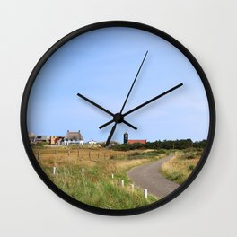 north holland romantic Wall Clock