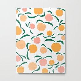 Peach Me Metal Print