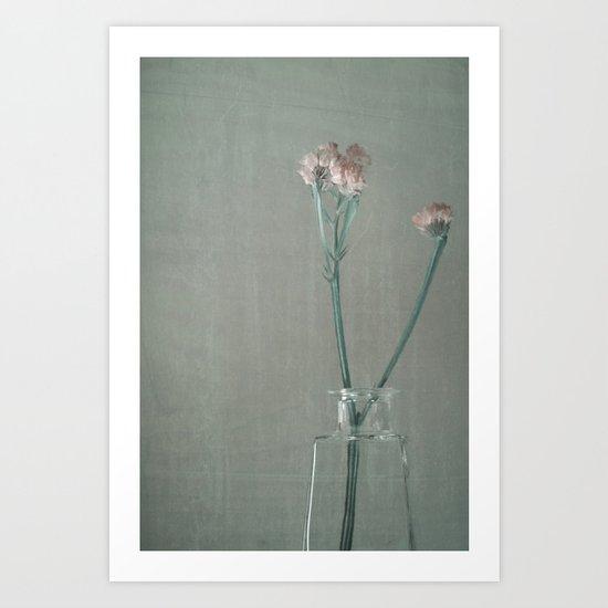 Oh, fleurs! Art Print