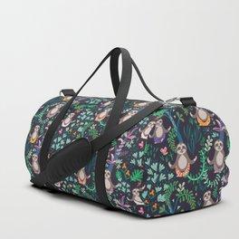 yoga sloths Duffle Bag