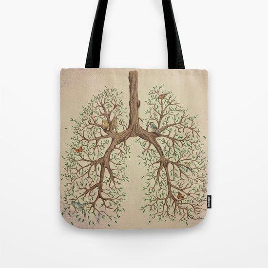 Breathe! Tote Bag