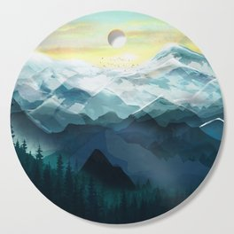 Mountain Range Cutting Board