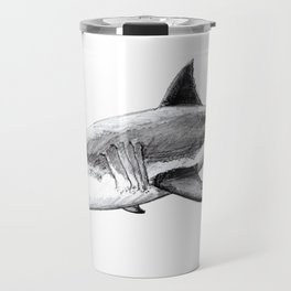 Great white shark (Carcharodon carcharias) Travel Mug