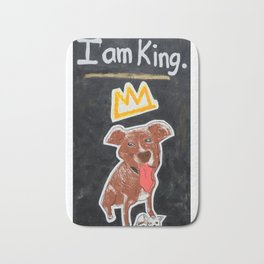 I am King. Bath Mat