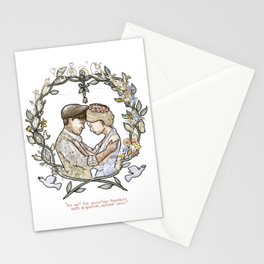 """Illustration from the video of the song by Wilder Adkins, """"When I'm Married"""" (no names on it) Stationery Cards"""