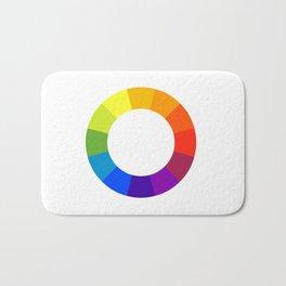 Pantone color wheel Bath Mat