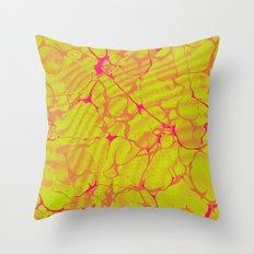 Marble Splash Throw Pillow