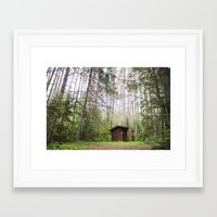 maine Framed Art Prints featuring Maine by Danielle Sheridan Photo