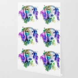Dachshund watercolor, Watercolor Dachshund, Watercolor dog, Dachshund portrait Wallpaper