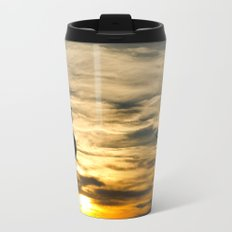 Birds in the sunset Travel Mug