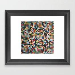 Pixels 4 Framed Art Print