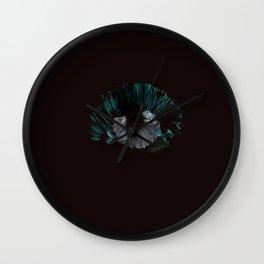 Pearl of Blue Shells Wall Clock