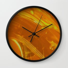 Honey Up Close 1! Wall Clock