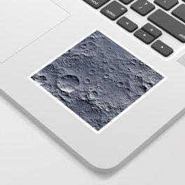 Moon Surface Sticker