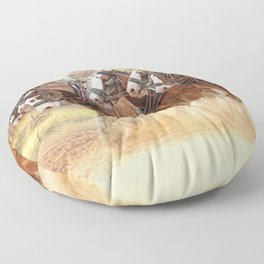 Autumn Harrow Floor Pillow