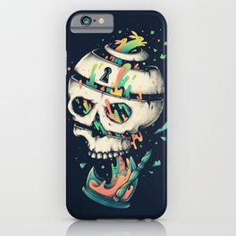 Fragile Delusion of Life and Death iPhone Case