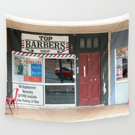 Barber Shop Wall Tapestry
