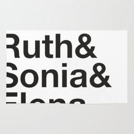 RBG Shirt - Sandra Ruth Sonia Elena Rug