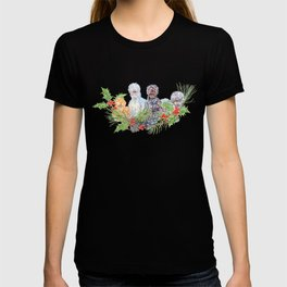 Silkie Chicken Huddle - Peck the halls!  T-shirt