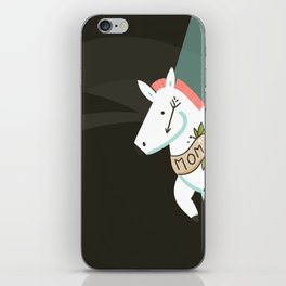 Tattooed horse iPhone Skin