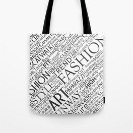 Fashion keywords Tote Bag