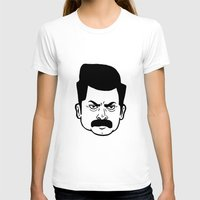 ron swanson T-shirts featuring Ron Swanson by bookotter