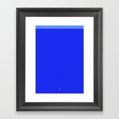 Super Mariona Trench Framed Art Print