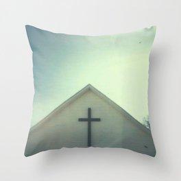 Church + Sky Throw Pillow