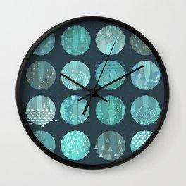 CELESTIAL BODIES - MIDNIGHT Wall Clock