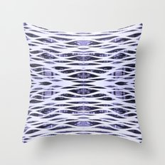You're Only Coming Through in Waves Throw Pillow