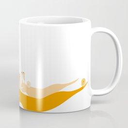 girl and snails Coffee Mug