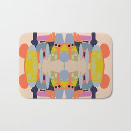 Mirrored Bath Mat