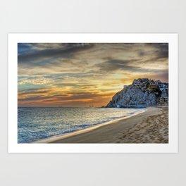 Cabo sunset Art Print