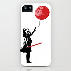 That's No Banksy Balloon (It's a Space Station) Slim Case iPhone (5, 5s)